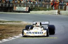 "March 761 Artuto Merzario British GP 1976. 5x7"" action photo"